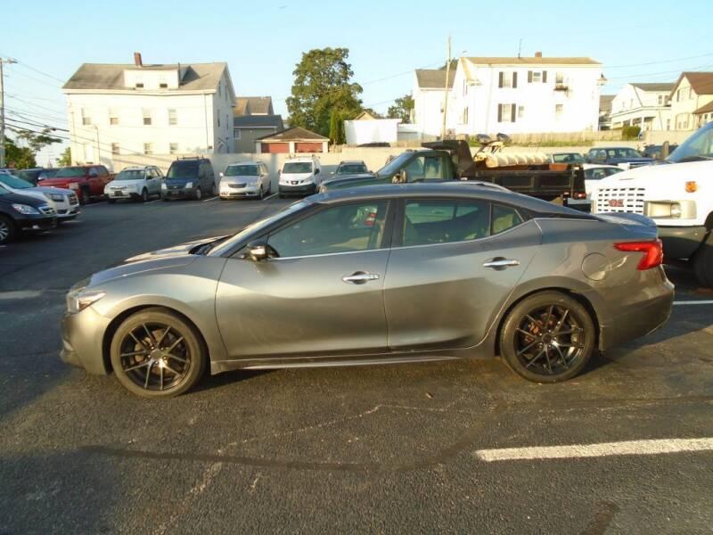 2016 Nissan Maxima for sale at Gemini Auto Sales in Providence RI