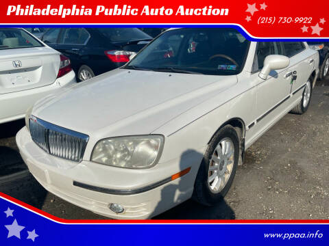 2004 Hyundai XG350 for sale at Philadelphia Public Auto Auction in Philadelphia PA