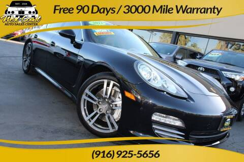 2011 Porsche Panamera for sale at West Coast Auto Sales Center in Sacramento CA