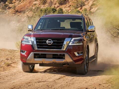 2021 Nissan Armada for sale at Tom Peacock Nissan (i45used.com) in Houston TX
