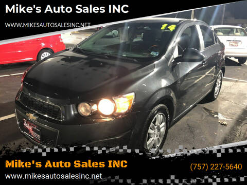2014 Chevrolet Sonic for sale at Mike's Auto Sales INC in Chesapeake VA