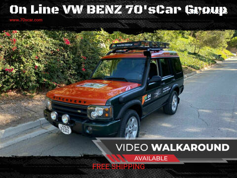2004 Land Rover Discovery for sale at On Line VW BENZ 70'sCar Group in Warehouse CA