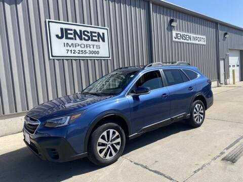 2020 Subaru Outback for sale at Jensen's Dealerships in Sioux City IA