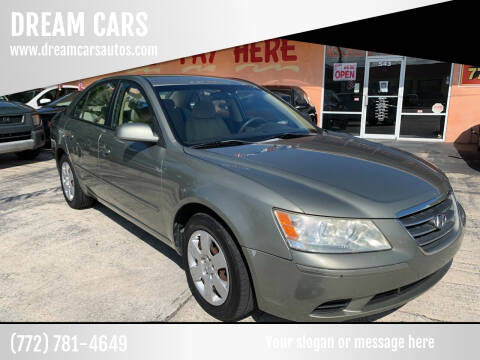 2009 Hyundai Sonata for sale at DREAM CARS in Stuart FL