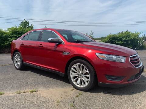 2013 Ford Taurus for sale at Fournier Auto and Truck Sales in Rehoboth MA