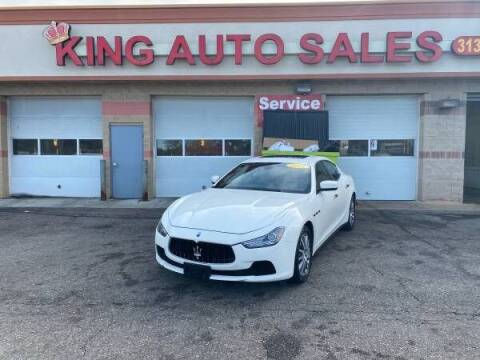 2014 Maserati Ghibli for sale at KING AUTO SALES  II in Detroit MI