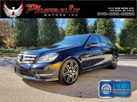 2013 Mercedes-Benz C-Class for sale at Phoenix Motors Inc in Raleigh NC