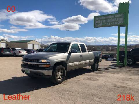 2000 Chevrolet Silverado 1500 for sale at Independent Auto in Belle Fourche SD