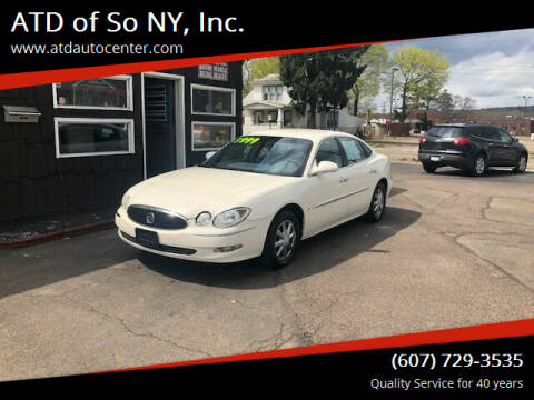2006 Buick LaCrosse for sale at ATD of So NY, Inc. in Johnson City NY