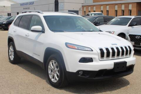 2016 Jeep Cherokee for sale at SHAFER AUTO GROUP in Columbus OH