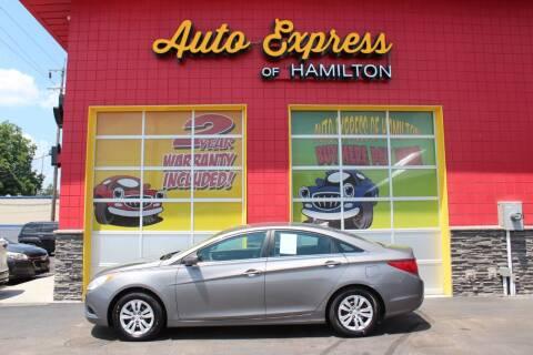 2011 Hyundai Sonata for sale at AUTO EXPRESS OF HAMILTON LLC in Hamilton OH