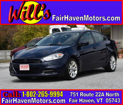 2013 Dodge Dart for sale at Will's Fair Haven Motors in Fair Haven VT