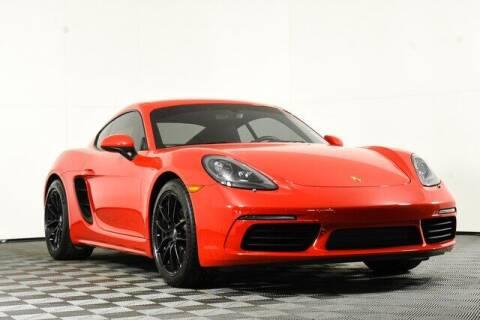 2017 Porsche 718 Cayman for sale at Washington Auto Credit in Puyallup WA