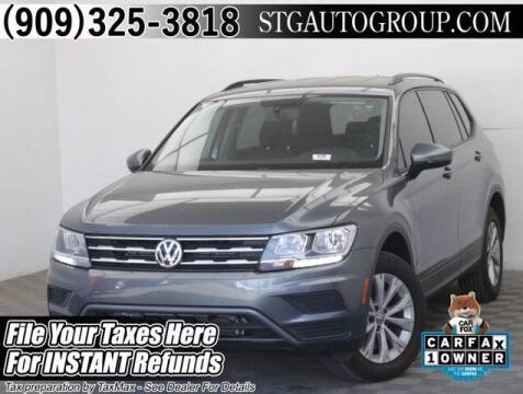 2020 Volkswagen Tiguan for sale at STG Auto Group in Montclair CA