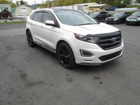 2018 Ford Edge for sale at WORKMAN AUTO INC in Pleasant Gap PA