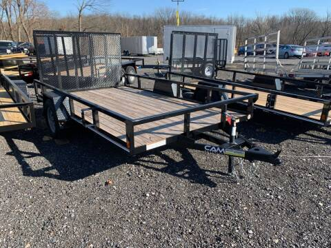2021 CAM SUPERLINE 7x12 Single Axle for sale at Smart Choice 61 Trailers in Shoemakersville PA