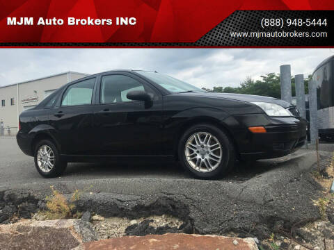 2007 Ford Focus for sale at MJM Auto Brokers INC in Gloucester MA