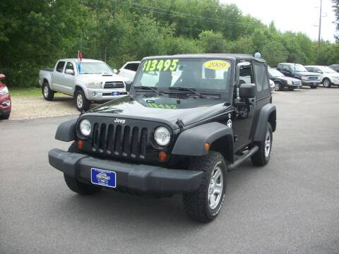 2009 Jeep Wrangler for sale at Auto Images Auto Sales LLC in Rochester NH