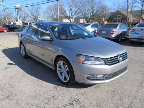2012 Volkswagen Passat for sale at St. Mary Auto Sales in Hilliard OH