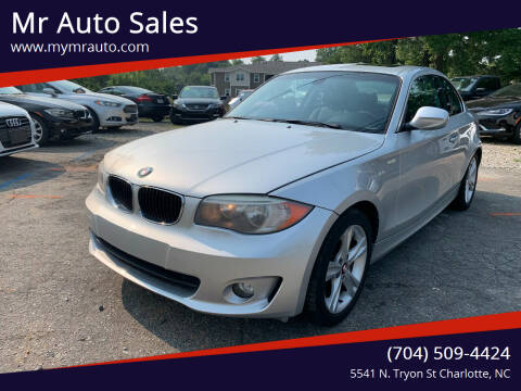 2012 BMW 1 Series for sale at Mr Auto Sales in Charlotte NC