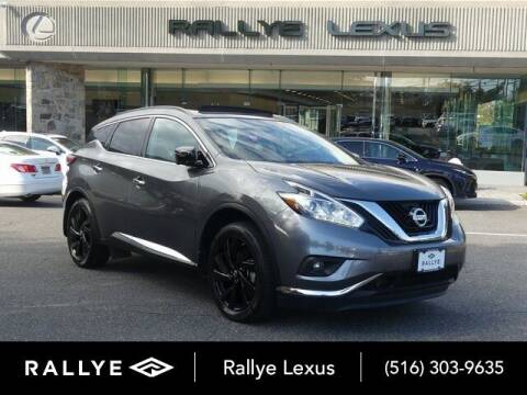 2017 Nissan Murano for sale at RALLYE LEXUS in Glen Cove NY