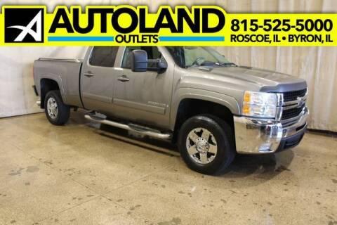 2007 Chevrolet Silverado 2500HD for sale at AutoLand Outlets Inc in Roscoe IL