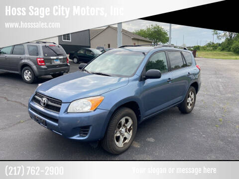 2010 Toyota RAV4 for sale at Hoss Sage City Motors, Inc in Monticello IL
