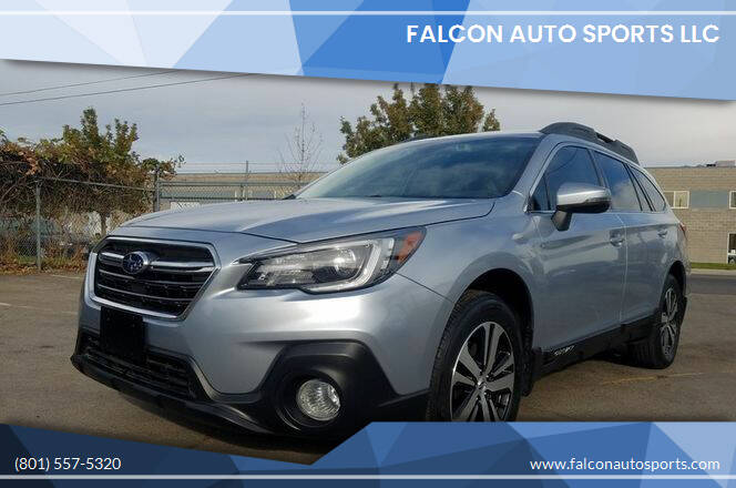 2018 Subaru Outback for sale at Falcon Auto Sports LLC in Murray UT