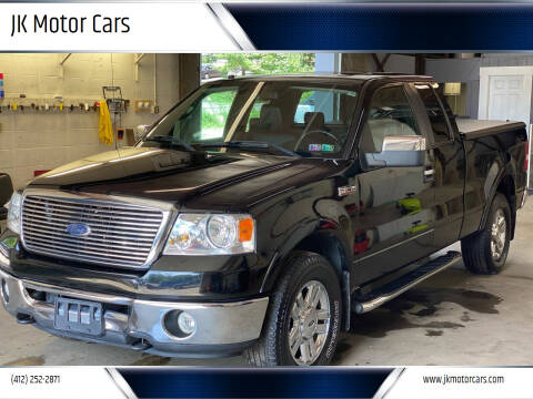 2007 Ford F-150 for sale at JK Motor Cars in Pittsburgh PA