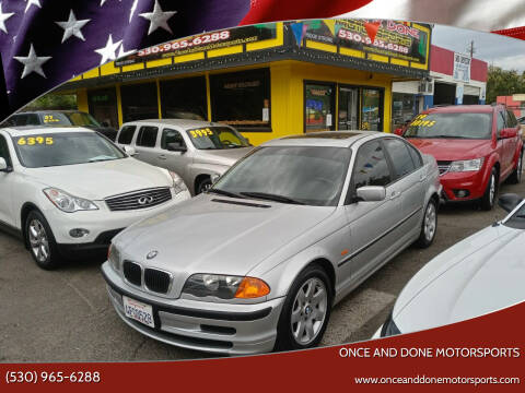 1999 BMW 3 Series for sale at Once and Done Motorsports in Chico CA