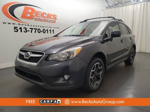 2014 Subaru XV Crosstrek for sale at Becks Auto Group in Mason OH