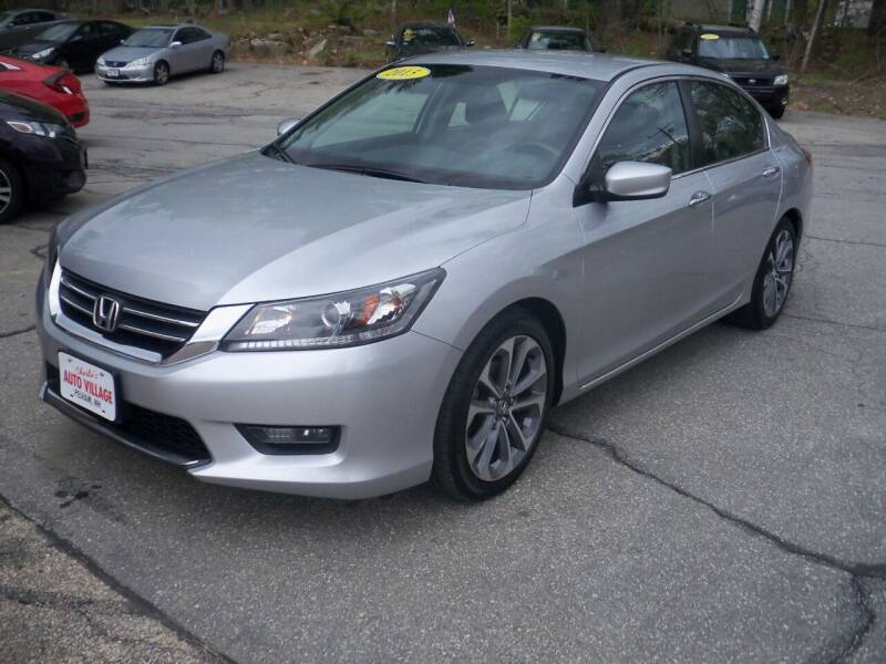 2015 Honda Accord for sale at Charlies Auto Village in Pelham NH