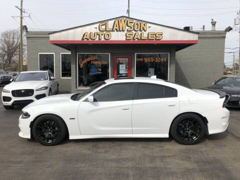 2017 Dodge Charger for sale at Clawson Auto Sales in Clawson MI