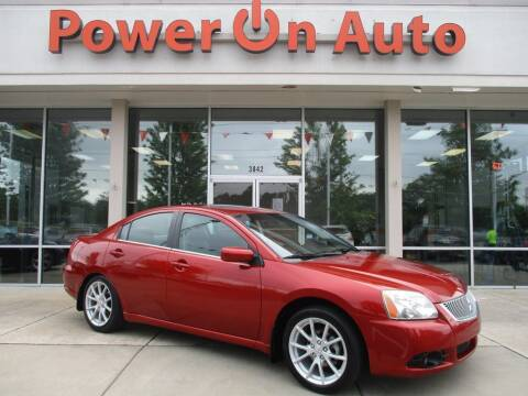 2012 Mitsubishi Galant for sale at Power On Auto LLC in Monroe NC