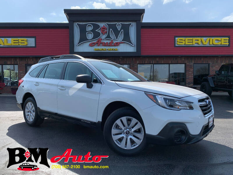 2018 Subaru Outback for sale at B & M Auto Sales Inc. in Oak Forest IL