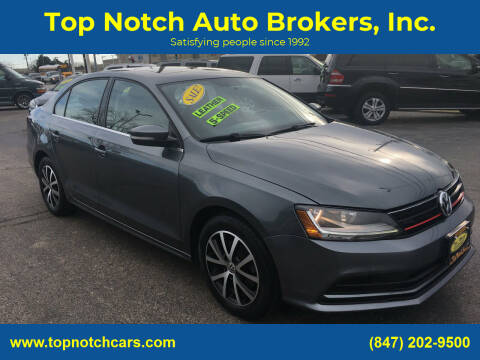 2017 Volkswagen Jetta for sale at Top Notch Auto Brokers, Inc. in Palatine IL