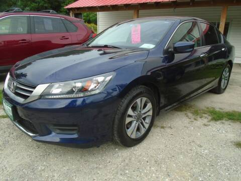 2015 Honda Accord for sale at Wimett Trading Company in Leicester VT