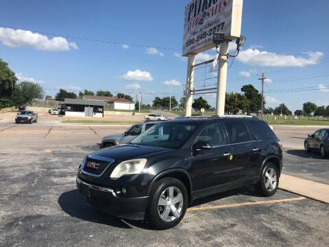 2011 GMC Acadia for sale at Patriot Auto Sales in Lawton OK