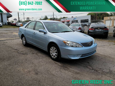2005 Toyota Camry for sale at Green Ride Inc in Nashville TN