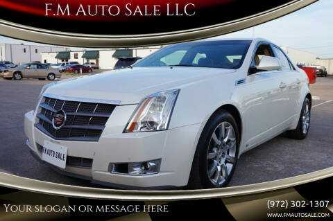 2008 Cadillac CTS for sale at F.M Auto Sale LLC in Dallas TX
