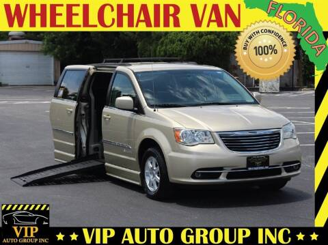 2012 Chrysler Town and Country for sale at VIP Auto Group in Clearwater FL