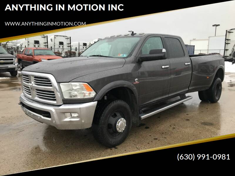 2016 RAM Ram Pickup 3500 for sale at ANYTHING IN MOTION INC in Bolingbrook IL