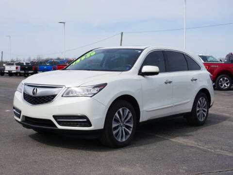 2015 Acura MDX for sale at FOWLERVILLE FORD in Fowlerville MI