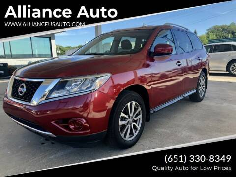 2014 Nissan Pathfinder for sale at Alliance Auto in Newport MN