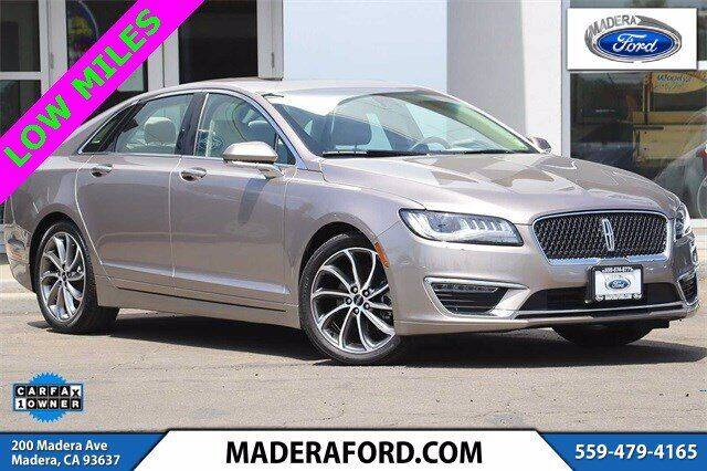 2019 Lincoln MKZ for sale in Madera, CA