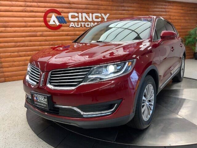 2016 Lincoln MKX for sale at Dixie Imports in Fairfield OH