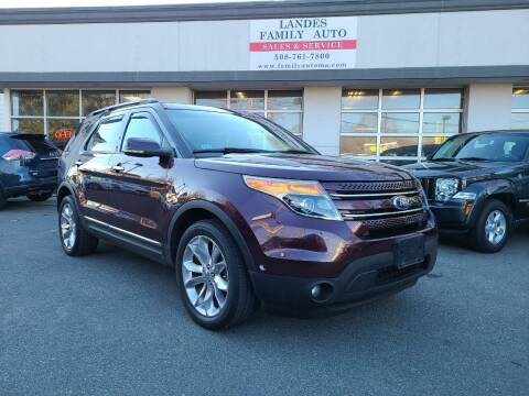 2011 Ford Explorer for sale at Landes Family Auto Sales in Attleboro MA