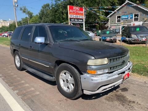 2002 Chevrolet Tahoe for sale at Korz Auto Farm in Kansas City KS