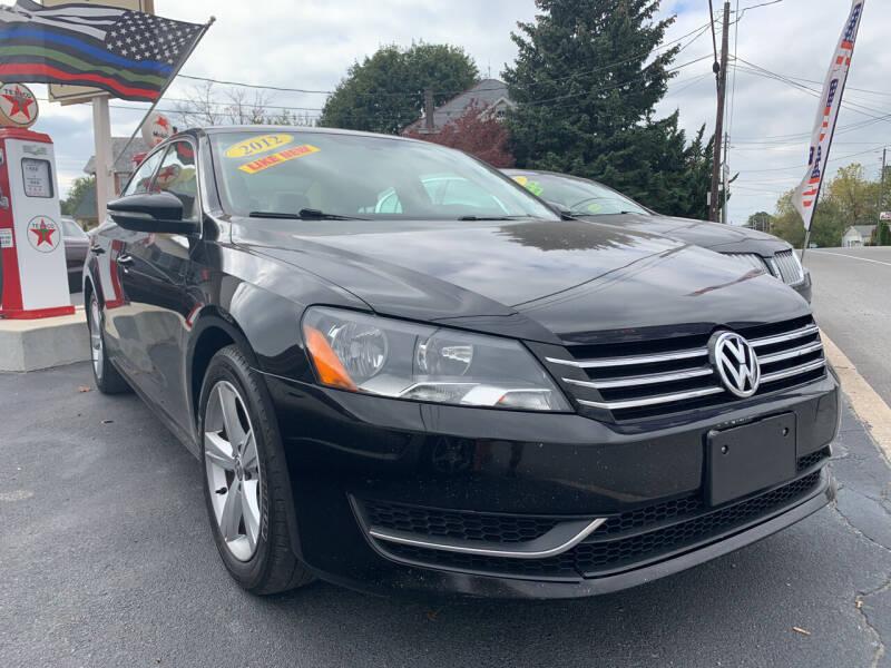 2012 Volkswagen Passat for sale at Waltz Sales LLC in Gap PA