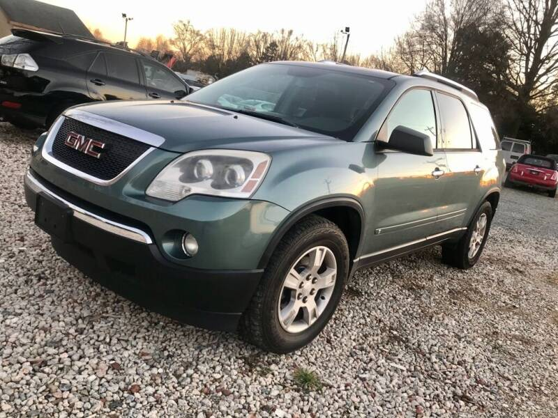 2009 GMC Acadia for sale at Twins Motors in Charlotte NC